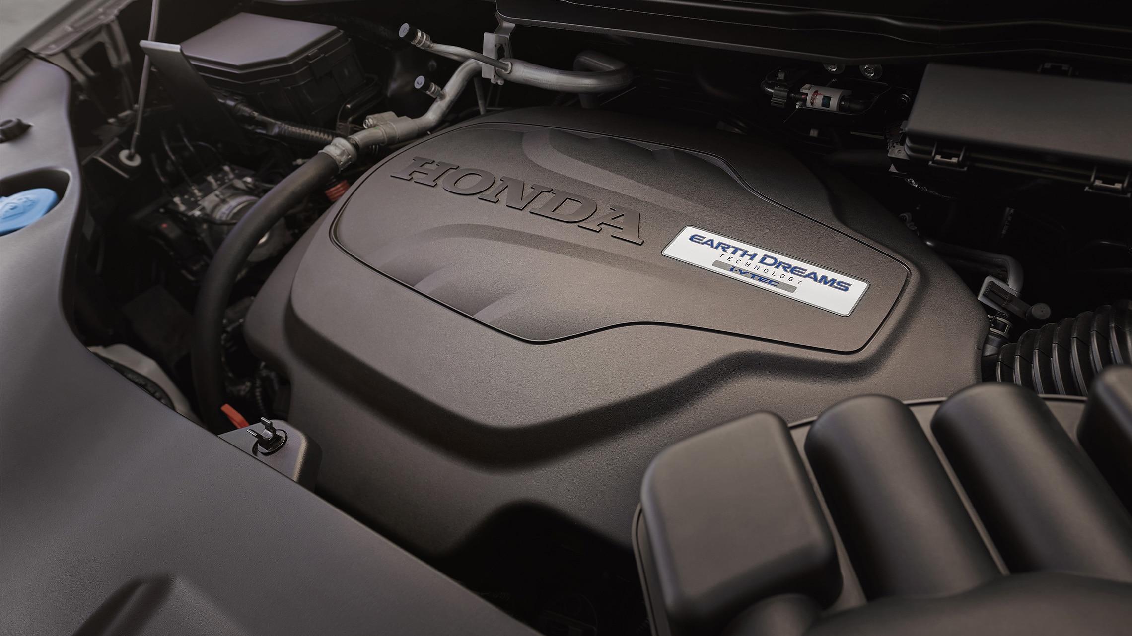 Motor V-6 i-VTEC® de 280caballos de fuerza en la Honda Passport Elite2021.